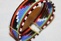 Maasai bead