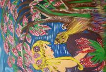 Sanat / Akrilik boyama 35×50 tuvalüzerine