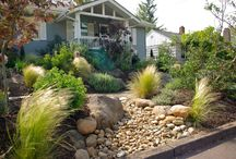 River beds / wet or dry river beds for gardens