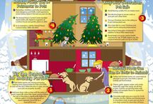 Pets and Holidays! / pets make any holiday extra special!  Enjoy and keep them safe.