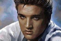 Elvis Oil paintings by Sue Lucas