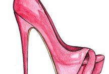 рисунки обуви