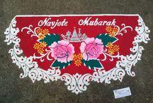 Parsi Rangoli Designs