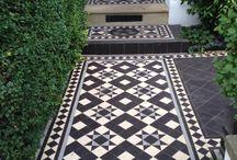 facades [tiling] floors exteior