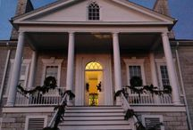 """A Belle Grove Christmas / 2015 Christmas decorations to the them of """"Christmas Around the World"""""""