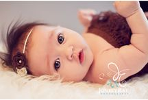 2-3 Month Old Infant Photography session
