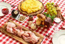 La Tovaglia del Mese / Uno sguardo al mondo degli ingredienti che, stagione dopo stagione, possono accompagnare Polenta Valsugana