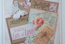 """Belle de Fleur / Inspiration using our """"Belle de Fleur"""" papercraft kit"""