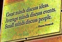 Clever thoughts