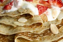 Pancake Recipes / Making pancakes is quick and easy and they are always very popular with children! Thick, spongy American pancakes with warm maple syrup, crisp fried bacon or tradition pancakes; check out these recipes today