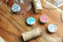 Wine Charms & DIY ideas / by Maggie