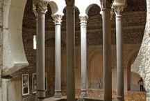 the Roman bath or hammam