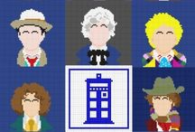 Dr Who Freebie Cross Stitch, beading, Knitting and other crafts.