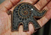 Plstené šperky