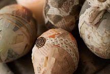 The hen, bunny and the egg / Hønen, haren og ægget