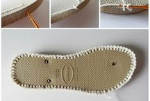 crochet sandália