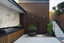 Outdoor Kitchen / Outdoor kitchen inspiration and ideas to be incorporated in your new custom designed home