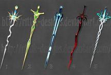 Unique Weapons