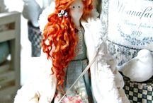 "Tilda dolls / Tilda dolls - textile dolls handmade, made in the style of ""tilda"". View - http://arthandmade.net/catalog/kyklitilda"