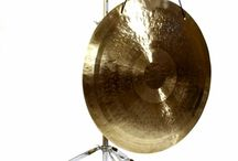 """20"""" to 24"""" Near Large Chinese Gong and Stand Combos / Some of our Chinese Gongs"""