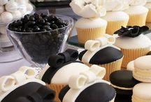 Classic Black & White wedding