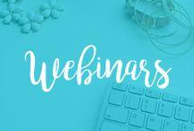 Webinars / webinars, web workshop, hangout, skype