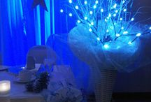Blue Mini Lights for room decoration