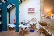 LittleFabrik / Le concept store familial bordelais vu de l'intérieur... 17 rue Fondaudege 33000 Bordeaux