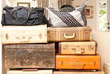 vintage luggage / by Denise Sanches