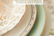 Table Top / by Vickie Thomson