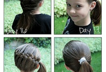Hair braiding and styles