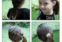 Aubrey's crazy hair! / by Alison Nehls