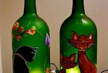 decorado de botellas