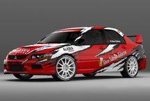 Rabih Abou Salman (Mitsubishi Lancer Evo IX) / Wrap design.