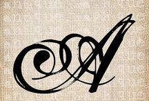 tatoo A letter