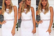 Little white dress / Perfect for brides or just because you need a little white dress