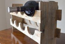 DIY stojaki na wina z palet/Wood Pallet Wine Rack
