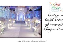 Wedding Events / 5th Avenue Wedding Events.