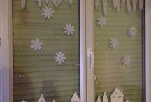 décoration vitre