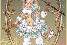 Принцессы и не только в стиле 18 века