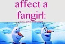 Being a fangirl/fanboy