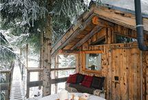 Cabins / by Melanie Hutti
