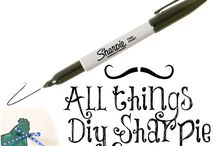 Sharpie DIY & crafts  / by Heather Cunningham