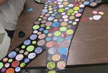 Art: Group Projects / ryhmätyö ideoita kuvikseen
