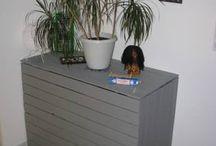 Pallet Hidden Desk