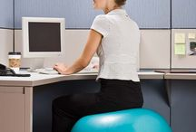 Exercises to try at my desk / by Kristy Krummen