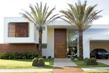 fachada de casas
