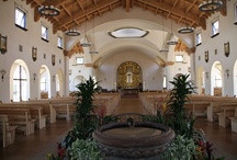 Fellert in St Gabriel's church, Poway CA