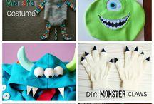 monster costumrs