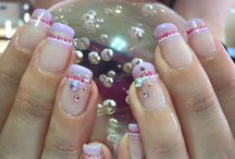Nail art / Calgel, Japanese nail art, and other manicure ideas.